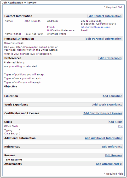 La State Civil Service Job Search